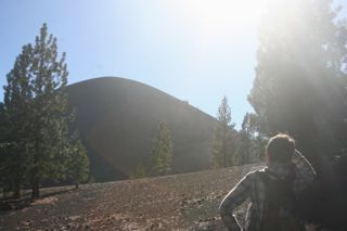The mighty cinder cone